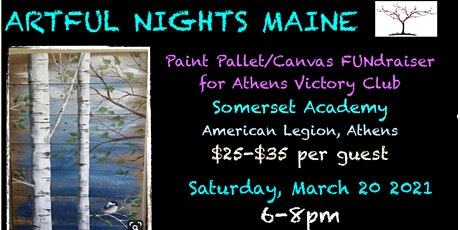 Wood Pallet/ Canvas FUNdraiser for Athens Victory Club tickets