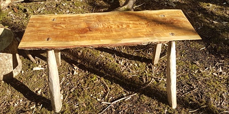 Make a rustic bench to take home tickets