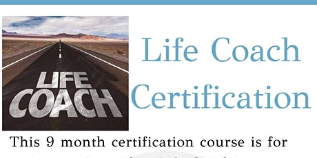 Life Coach Certification tickets