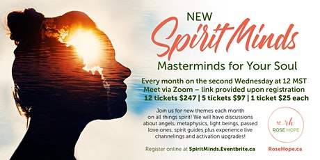 Spiritminds - Masterminds for Your Soul! tickets
