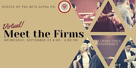 Beta Alpha Psi Meet the Firms tickets