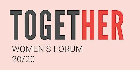 TogetHER | Women's Forum 2020 Digital Series tickets