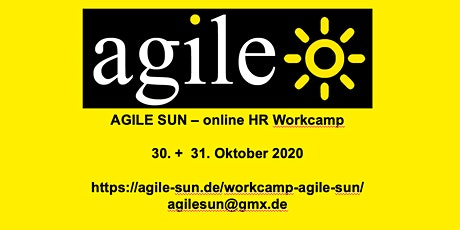 Workcamp Agile Sun 30.+31.10.2020 Tickets