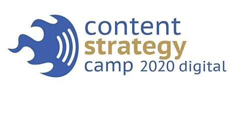 Content Strategy Camp 2020 digital tickets