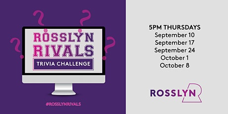 Rosslyn Rivals: Trivia Challenge tickets