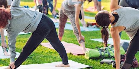 Beginner's Yoga Outdoor Weekly Class tickets
