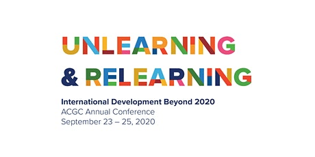 Unlearning and Relearning: International Development Beyond 2020 tickets