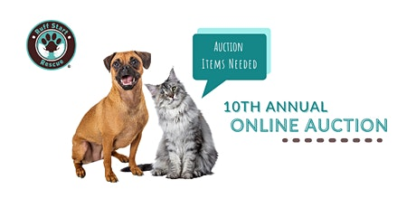 10th Annual Ruff Start Rescue Online Auction tickets