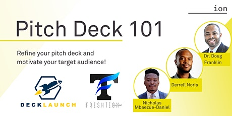 Pitch Deck 101 tickets