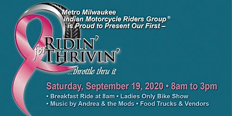 Ridin' for Thrivin' Breast Cancer Ride and Event tickets