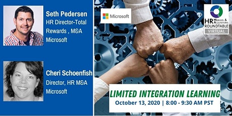 Microsoft HR M&A - Limited Integration Learning tickets