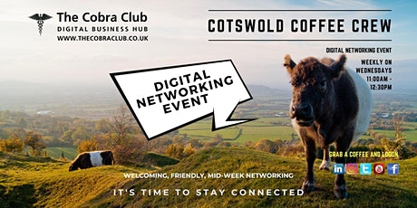 Cobra Club Cotswolds - Online Networkin Event - Cotswolds, Gloucestershire.