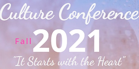 Culture ConNext Fall 2021 Conference tickets