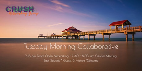 Crush Business Networking  Tuesday 7:30 am - 8:30 am entradas