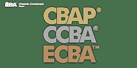 ECBA | CCBA | CBAP Virtual Study Group tickets
