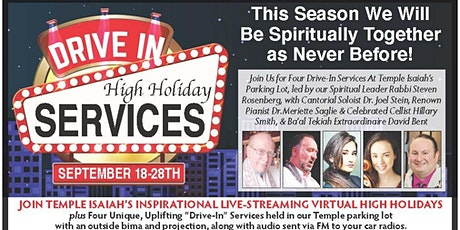 Drive In High Holiday Services tickets