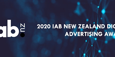 IAB New Zealand Digital Advertising Awards 2020 tickets