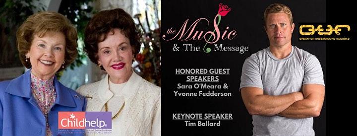The Music & The Message  Drive In Concert benefitting Childhelp & O.U.R. image