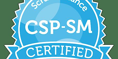 Certified Scrum Professional®-ScrumMaster (CSP®-SM) Online 16-19 November tickets