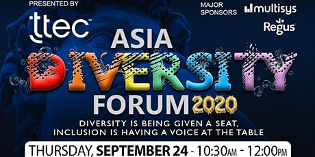 ASIA DIVERSITY FORUM 2020 tickets