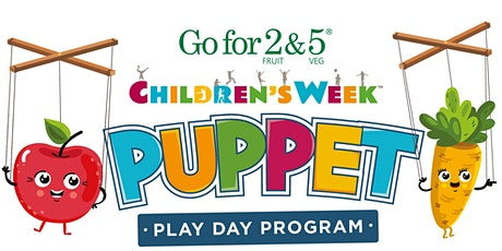 Go for 2&5 Children's Week Puppet Play Day – Bullsbrook tickets