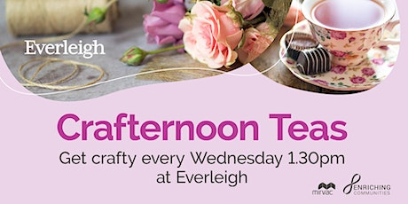Crafternoon Tea tickets