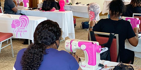 Memphis TN Lace Front Wig Making Class with Sewing Machine tickets