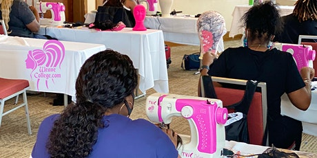 Detroit MI Lace Front Wig Making Class with Sewing Machines tickets