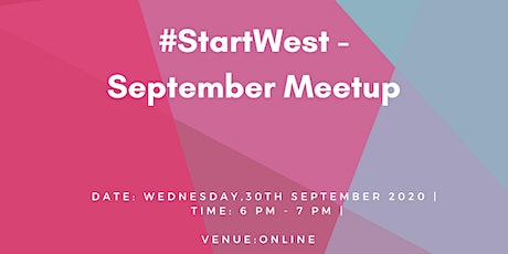 #StartWest - September  Meetup tickets