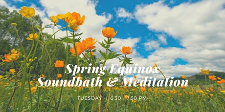 Spring Equinox Soundbath & Meditation West End, 22nd September tickets