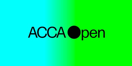 ACCA Open Artist Talks tickets