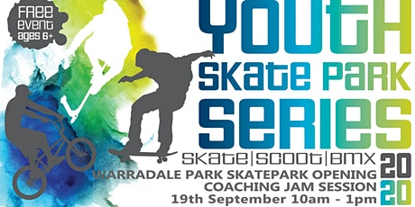Freestyle Now / City of Wanneroo - Warradale skatepark coaching jam session tickets