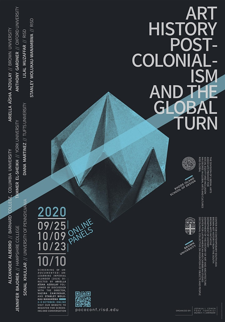 Art History, Postcolonialism, and the Global Turn Conference: All Sessions image