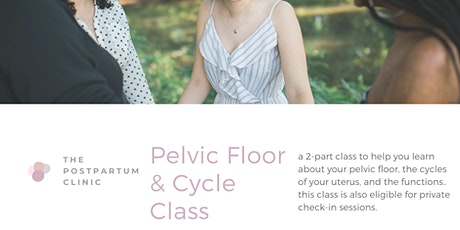 The Postpartum Clinic: Pelvic Floor & Cycle Class [ class one ] tickets