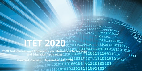 2020 2nd Intl. Conf. on Information Technology & Education Technology: ITET