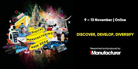 Digital Manufacturing Week Online (including Smart Factory Expo) tickets