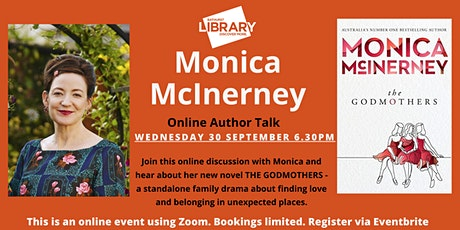 Online Author Talk with Monica McInerney tickets