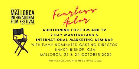 Auditioning for Film and TV Masterclass & International marketing seminar tickets