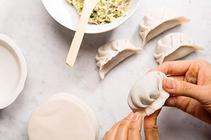 CHINESE DUMPLINGS CLASS WITH MASTERCHEF CONTESTANT JO KENDRAY image