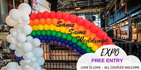 Same Same Weddings Expo FREE ENTRY - REGISTER NOW tickets