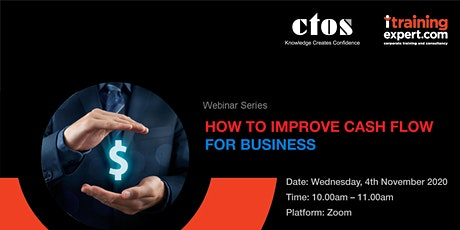 CTOS: How to Improve Cashflow for Business tickets