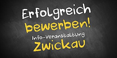 Bewerbungscoaching Infoveranstaltung AVGS Zwickau Tickets