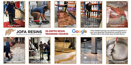 Epoxy & Resins PRO Training Course in LEICESTER tickets