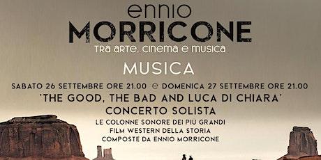 ENNIO MORRICONE - TRA ARTE, CINEMA E MUSICA: CONCERTO SOLISTA tickets