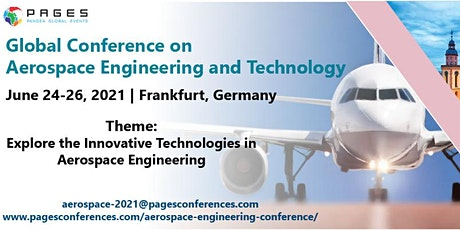 Global Conference on Aerospace Engineering and Technology-2021 tickets