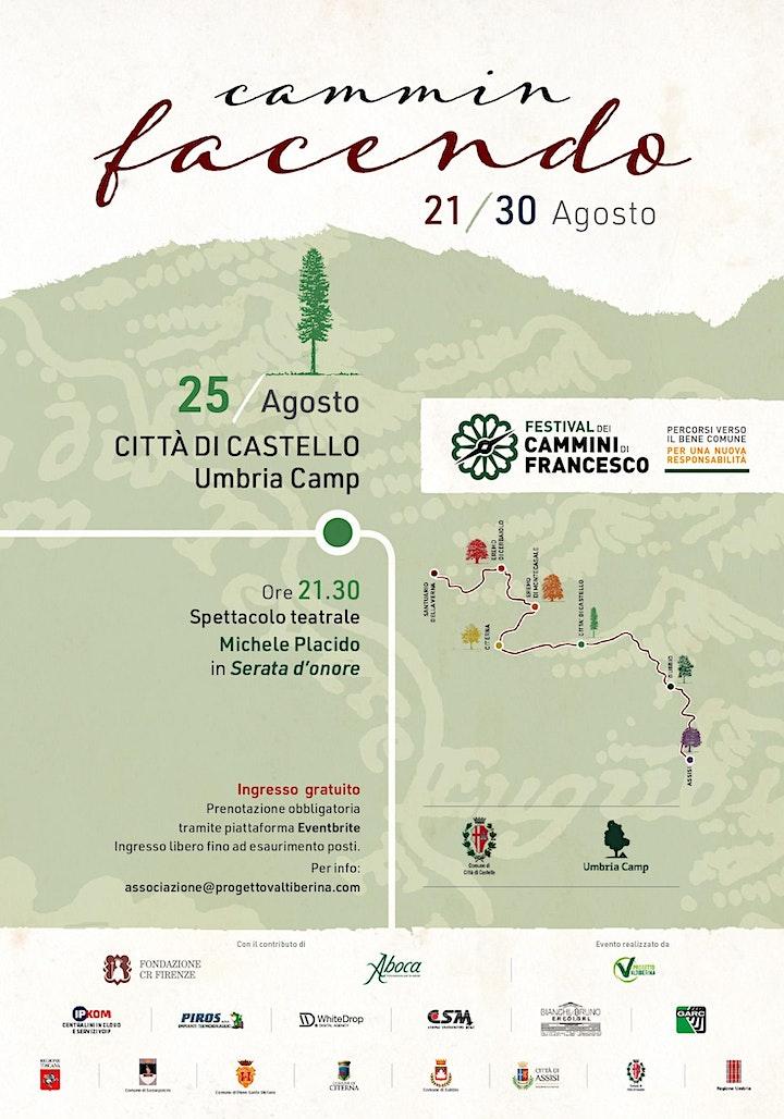 """Immagine """"Serata d'onore"""" Festival dei Cammini di Francesco 2020"""