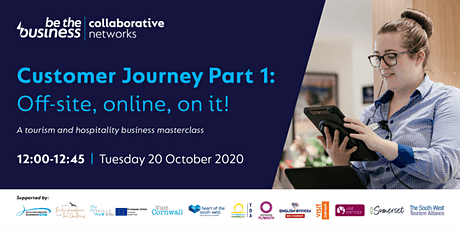 Customer Journey Part 1: Off-site, online, on it! tickets