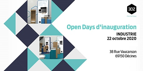 Open Days d'inauguration - INDUSTRIE billets