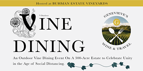 Vine Dining 2020 tickets
