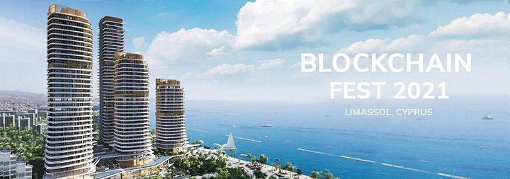 Blockchain Fest 2021 - Cyprus Event. Online stream image